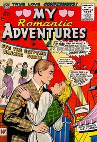 Cover Thumbnail for Romantic Adventures (American Comics Group, 1949 series) #54