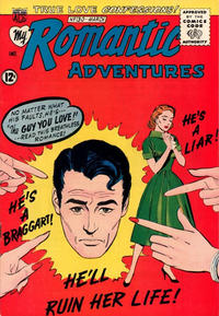 Cover Thumbnail for My Romantic Adventures (American Comics Group, 1956 series) #130