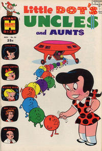 Cover Thumbnail for Little Dot's Uncles and Aunts (Harvey, 1961 series) #35