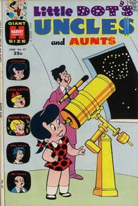 Cover Thumbnail for Little Dot's Uncles and Aunts (Harvey, 1961 series) #47