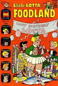 Cover Thumbnail for Little Lotta Foodland (Harvey, 1963 series) #11