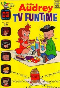 Cover Thumbnail for Little Audrey TV Funtime (Harvey, 1962 series) #14