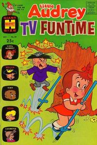 Cover Thumbnail for Little Audrey TV Funtime (Harvey, 1962 series) #29