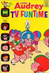 Cover Thumbnail for Little Audrey TV Funtime (Harvey, 1962 series) #30