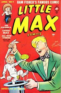Cover Thumbnail for Little Max Comics (Harvey, 1949 series) #4