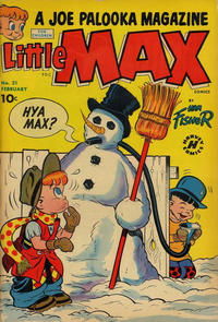 Cover for Little Max Comics (Harvey, 1949 series) #21