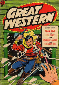 Cover for Great Western (Magazine Enterprises, 1953 series) #8