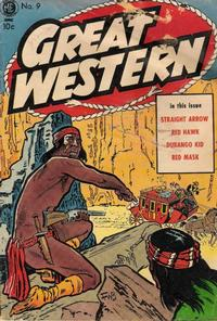 Cover Thumbnail for Great Western (Magazine Enterprises, 1953 series) #9