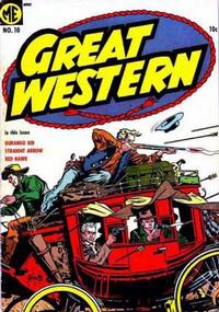 Cover Thumbnail for Great Western (Magazine Enterprises, 1953 series) #10