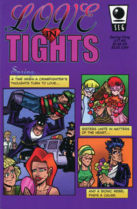 Cover Thumbnail for Love in Tights (Slave Labor, 1998 series) #3