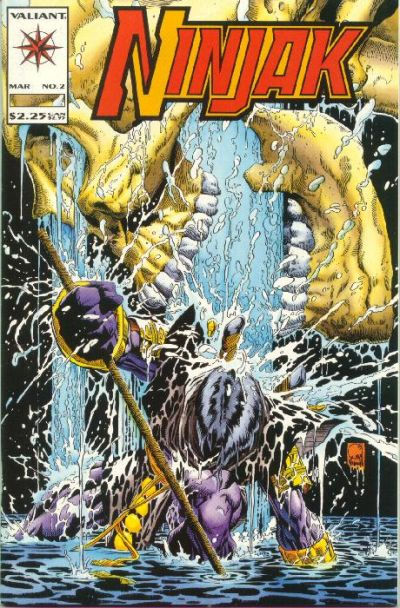 Cover for Ninjak (Acclaim / Valiant, 1994 series) #2