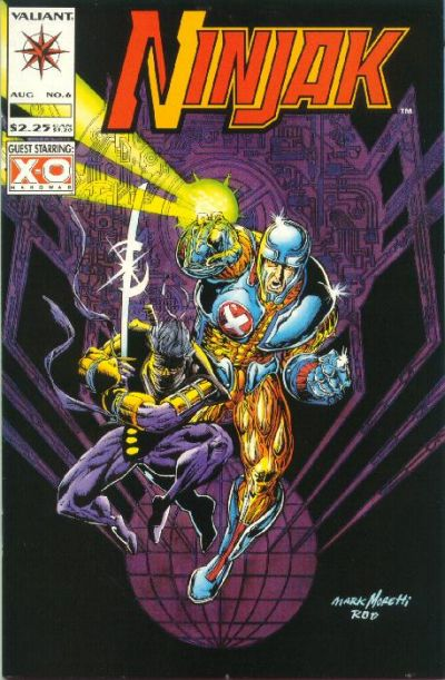 Cover for Ninjak (Acclaim / Valiant, 1994 series) #6