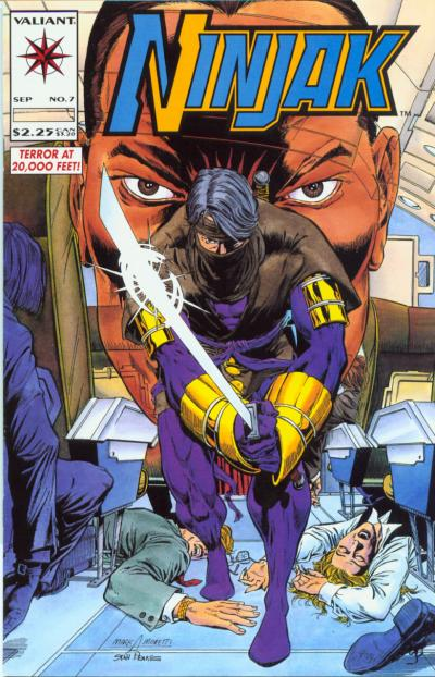 Cover for Ninjak (Acclaim / Valiant, 1994 series) #7