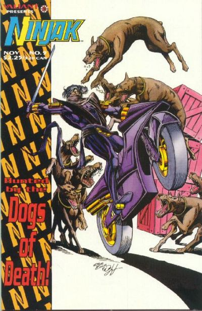 Cover for Ninjak (Acclaim / Valiant, 1994 series) #9