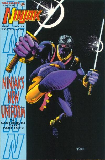 Cover for Ninjak (Acclaim / Valiant, 1994 series) #11