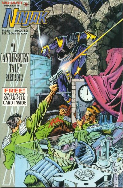 Cover for Ninjak (Acclaim / Valiant, 1994 series) #12