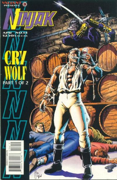 Cover for Ninjak (Acclaim / Valiant, 1994 series) #14