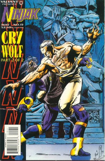 Cover for Ninjak (Acclaim / Valiant, 1994 series) #15