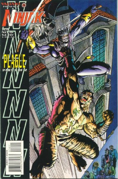 Cover for Ninjak (Acclaim / Valiant, 1994 series) #16