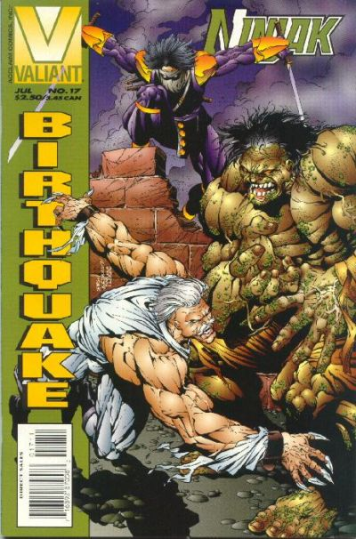 Cover for Ninjak (Acclaim / Valiant, 1994 series) #17