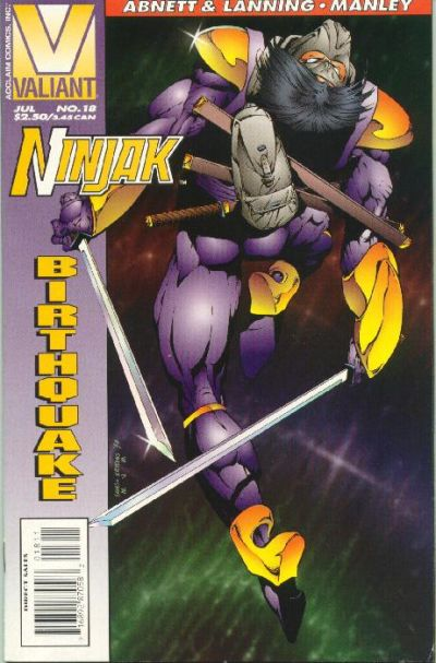 Cover for Ninjak (Acclaim / Valiant, 1994 series) #18