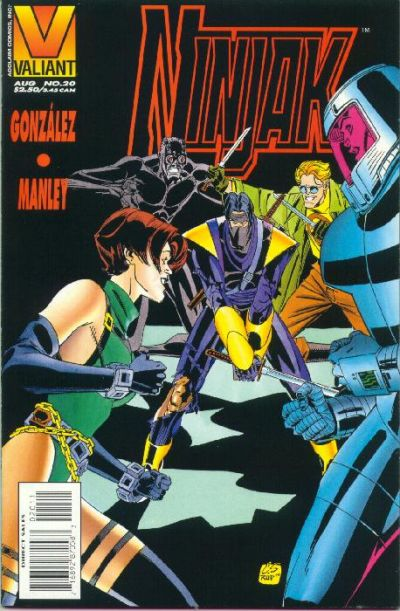 Cover for Ninjak (Acclaim / Valiant, 1994 series) #20