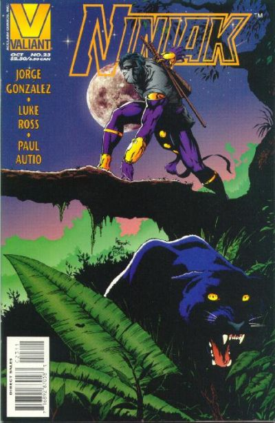 Cover for Ninjak (Acclaim / Valiant, 1994 series) #23