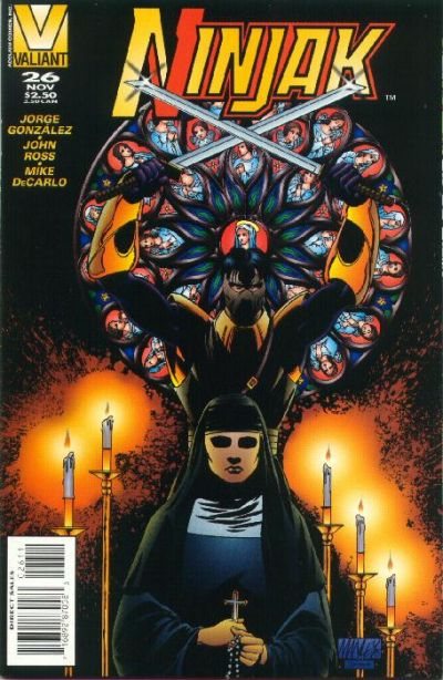 Cover for Ninjak (Acclaim / Valiant, 1994 series) #26