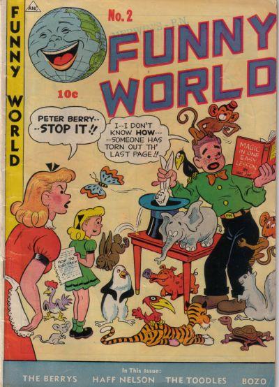 Cover for Funny World (Marbak Press, 1947 series) #2