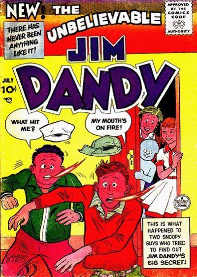 Cover for Jim Dandy (Lev Gleason, 1956 series) #2