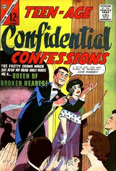 Cover for Teen-Age Confidential Confessions (Charlton, 1960 series) #19