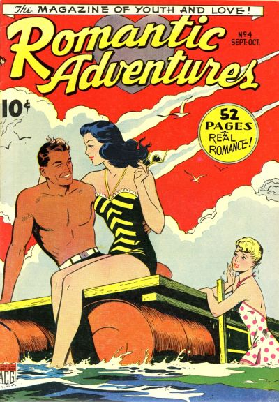 Cover for Romantic Adventures (American Comics Group, 1949 series) #4