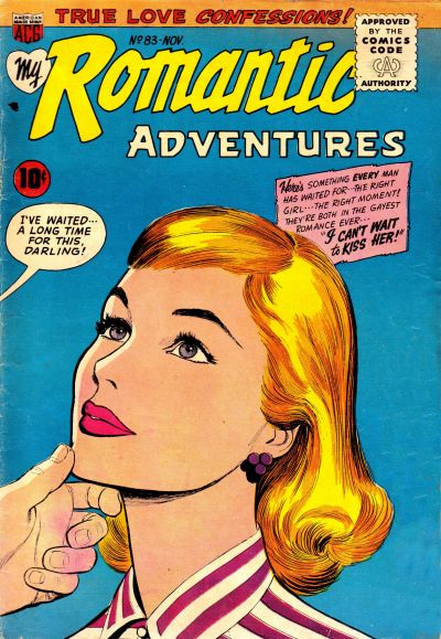 Cover for My Romantic Adventures (American Comics Group, 1956 series) #83