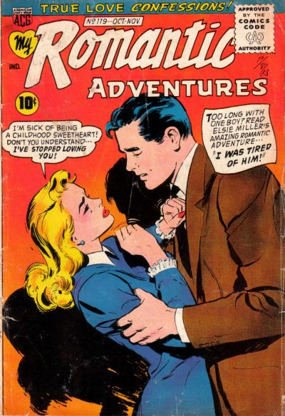 Cover for My Romantic Adventures (American Comics Group, 1956 series) #119