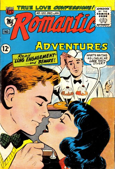 Cover for My Romantic Adventures (American Comics Group, 1956 series) #120