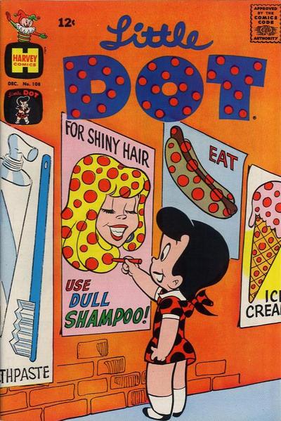 Cover for Little Dot (Harvey, 1953 series) #108