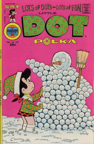 Cover for Little Dot (Harvey, 1953 series) #163