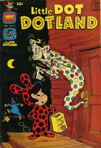 Cover for Little Dot Dotland (Harvey, 1962 series) #16