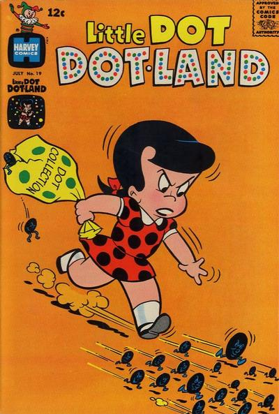 Cover for Little Dot Dotland (Harvey, 1962 series) #19