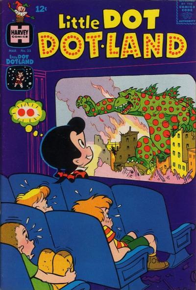 Cover for Little Dot Dotland (Harvey, 1962 series) #23