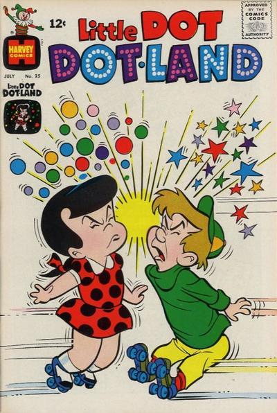 Cover for Little Dot Dotland (Harvey, 1962 series) #25