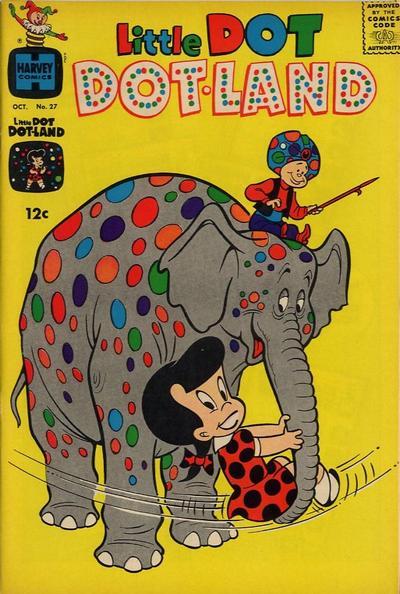 Cover for Little Dot Dotland (Harvey, 1962 series) #27