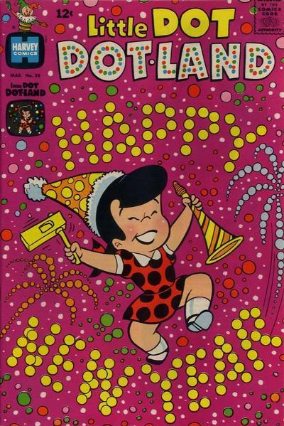 Cover for Little Dot Dotland (Harvey, 1962 series) #38