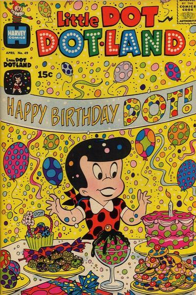 Cover for Little Dot Dotland (Harvey, 1962 series) #49
