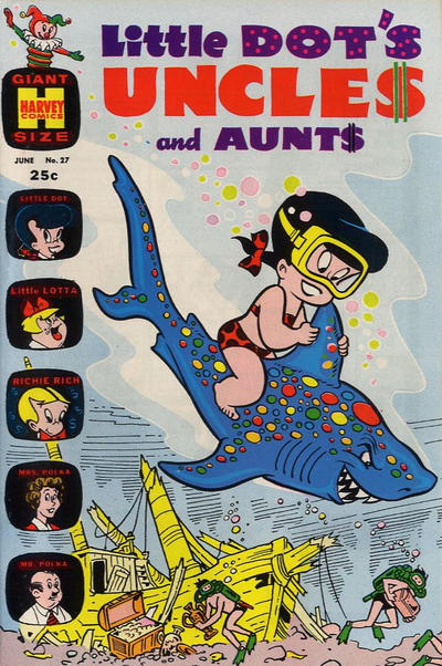 Cover for Little Dot's Uncles and Aunts (Harvey, 1961 series) #27