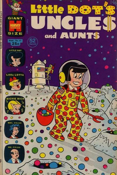 Cover for Little Dot's Uncles and Aunts (Harvey, 1961 series) #41