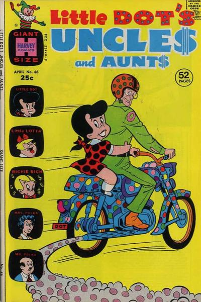 Cover for Little Dot's Uncles and Aunts (Harvey, 1961 series) #46