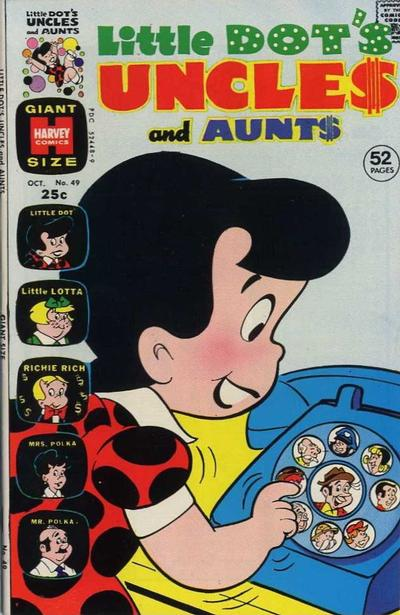 Cover for Little Dot's Uncles and Aunts (Harvey, 1961 series) #49