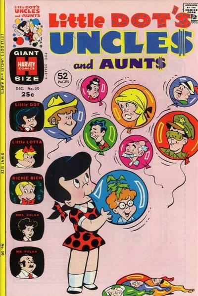 Cover for Little Dot's Uncles and Aunts (Harvey, 1961 series) #50