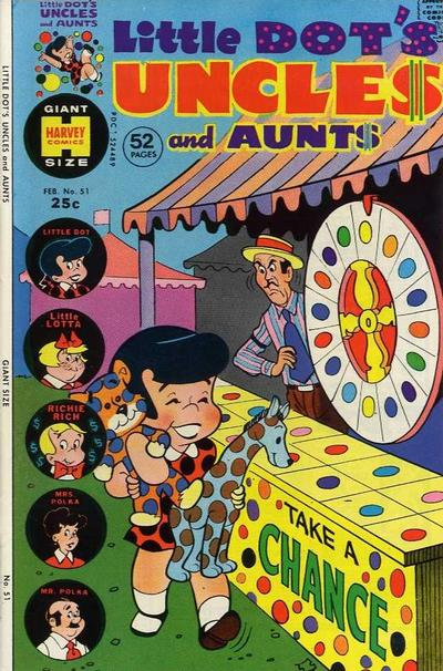 Cover for Little Dot's Uncles and Aunts (Harvey, 1961 series) #51